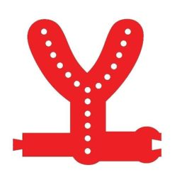 Smart Led Letter Y Red Color