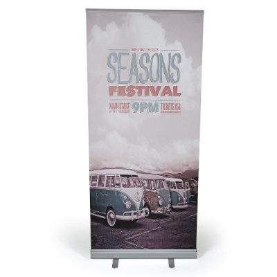 "Super Eco Roll Banner 36"" x 78.75"" With Bag"