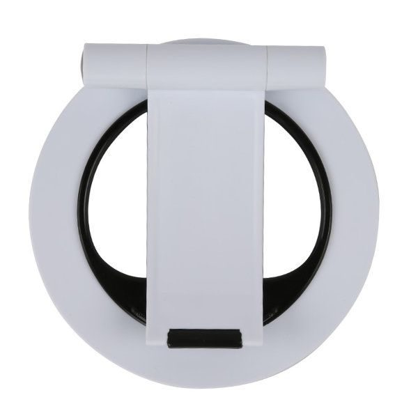 Tablet Stand Fit for iPad & Tablet PC, White Soft Silicon Feet