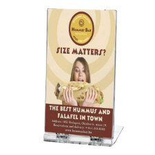 Foldable Leaflet Holder