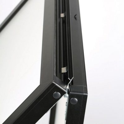 22x28 Slide-In A Frame Board Black Sidewalk Sign