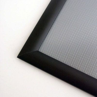 40x60 Snap Poster Frame - 1.77 inch Black Mitred Profile