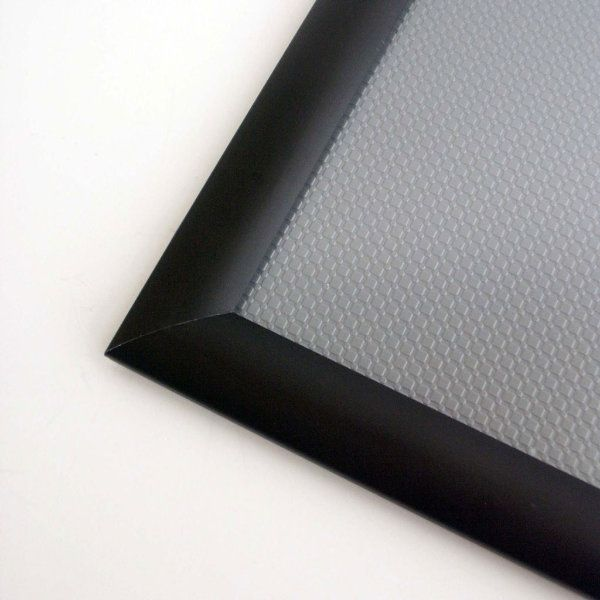 8 5x11 Window Frame 1 Inch Black Color Mitred Profile