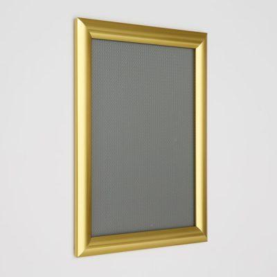8.5x11 Snap Poster Frame - 1 inch Golden Look Profile Mitered Corner