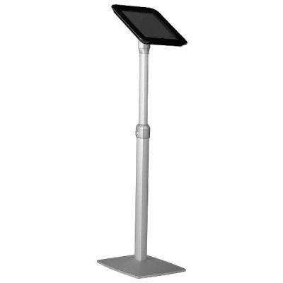 iPad Stand - Extendable Kiosk Black Acrylic Top Cover For iPad 2 & 3