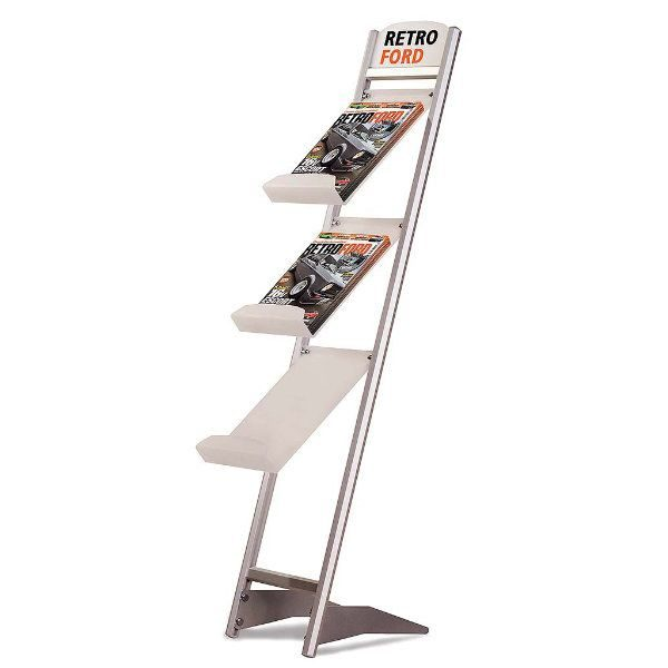 "Rapid Brochure Set 3 Tiers For 8.5"" x 11"" Brochures"
