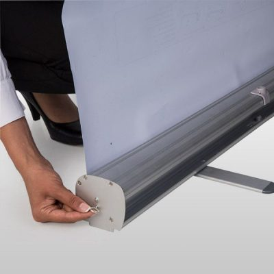 Retractable Roll Up Banner 39-3/8