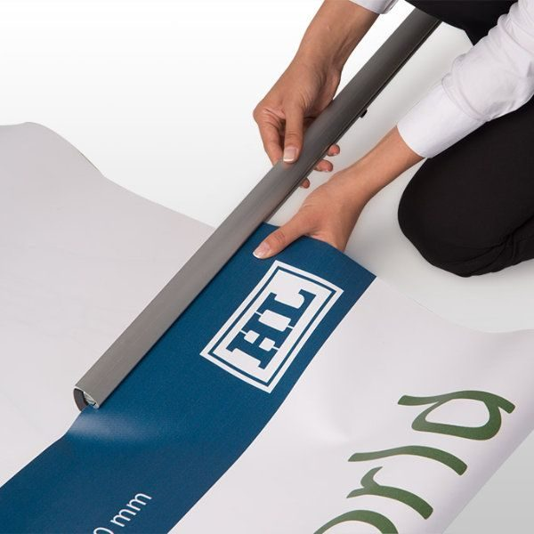 """Retractable Roll Up Banner 39-3/8"""""""