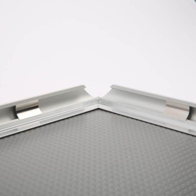 "0.59"" Silver profile Snap Frame 11"