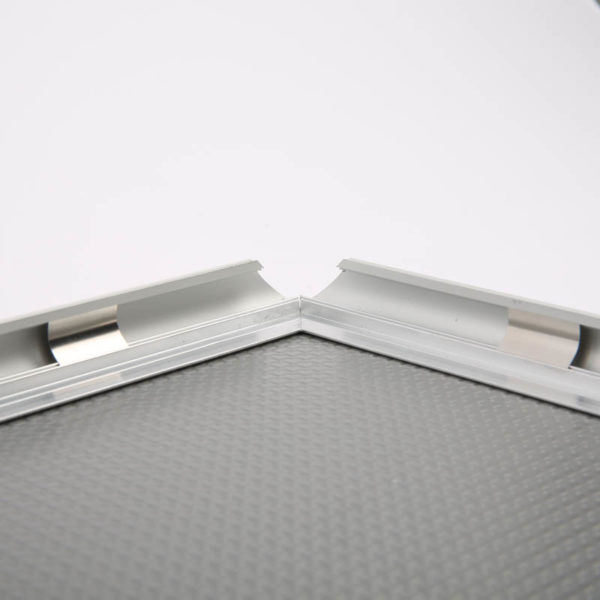 "0.59"" Silver profile Snap Frame 11""x14"" packed by 2"