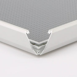 "0.79"" Silver Profile Snap Frame 11""x14"" packed by 10"