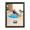 """1"""" Black profile Snap frame 8,5""""x11"""" packed by 2"""