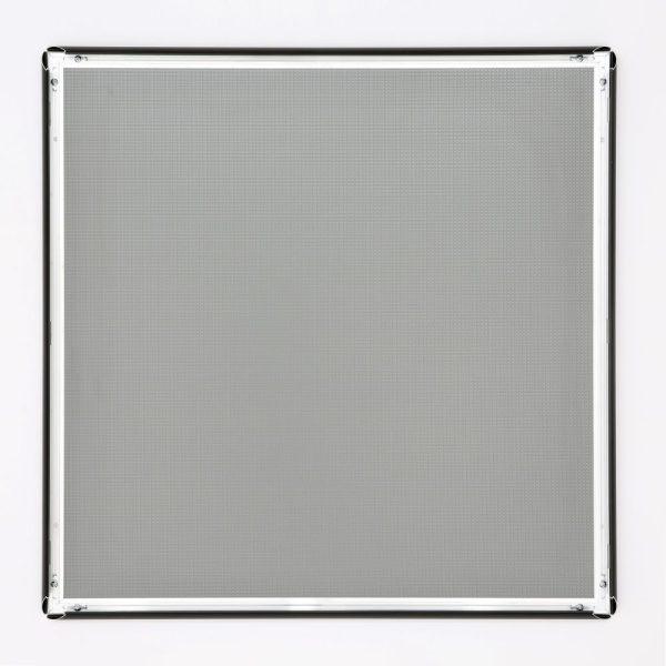 24x24 Snap Poster Frame - 1 inch Black Profile Mitered Corner (6)
