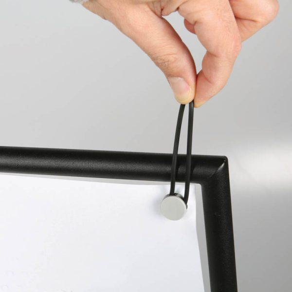 24x36 Banner Pro Black Frame