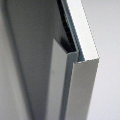 Single Sided Silver Slide in Frame 24