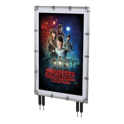 30x40 Banner Pro Silver Frame