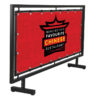 65x24 Large Format Street Barrier Ral 9005