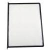 8.5x11 10 Pack Black Framed Clear Pocket