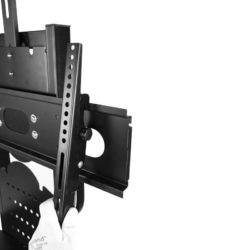 Black Mobile TV Stand