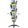 """Brochure Stand Set Rotating 8,5""""x11"""" 4 Sided"""