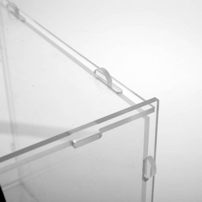 Clear locking Puzzle Box 12