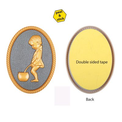 oval-shape-gold-color-plastic-injected-toilet-sign-men (3)