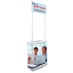 "Petit Promostand 27,56' 'x 15,35"" x 35,43 "" with Bag"