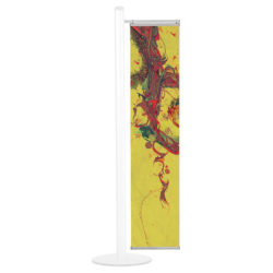 Silver Banner System for Free Standing