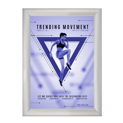Silver Frame for Free standing