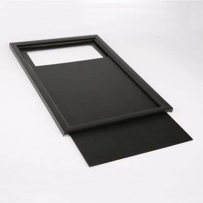 Single Sided Black Slide in Frame 24