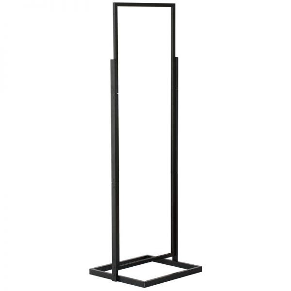 22x69 Portable Eco Infoboard Display Stand Black