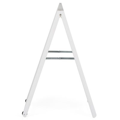 24w x 36h SignPro A Board Sidewalk Sign - White (3)