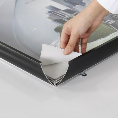 Portable-Snap-Poster-Frame-1.77-inch-Black-Mitered-Corner
