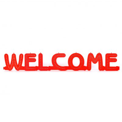 Welcome-Led-sign
