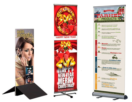 Banner Stands - Banner Holders