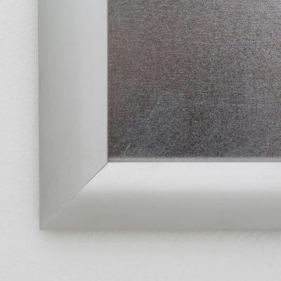 Fire Resistant Snap Poster Frame 1 inch Silver Mitered Corner (3)
