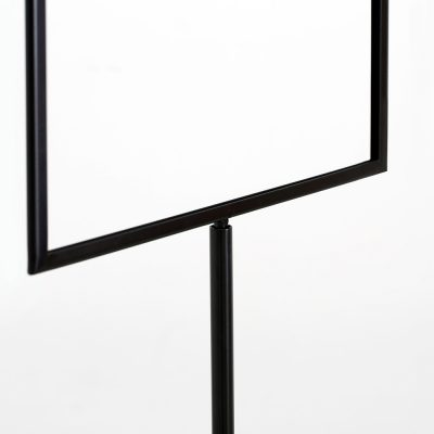 Floor-Sign-Holder-Black-Landscape11x14-5