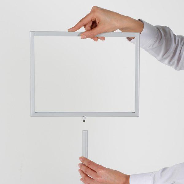 Floor-Sign-Holder-Grey-Landscape-8.5x11-3