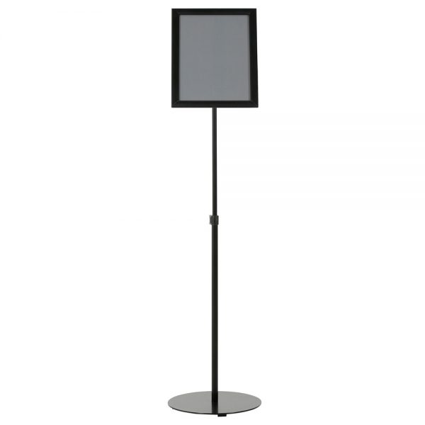 Floor-Sign-Stand-Holder-With-Telescoping-Pole-Black-Snap-Frame-11x17-04
