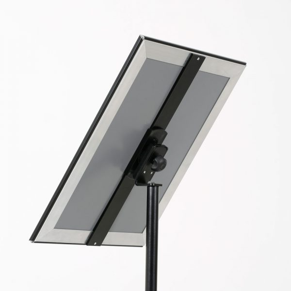 Floor-Sign-Stand-Holder-With-Telescoping-Pole-Black-Snap-Frame-11x17-16