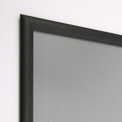 18x18 Snap Poster Frame - 1 inch BlackMitered Profile-4
