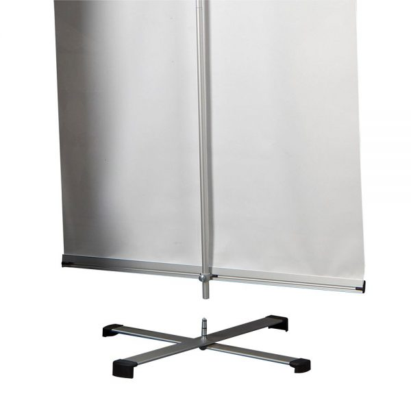 Cross Single banner adjustable height banner 23.5-9
