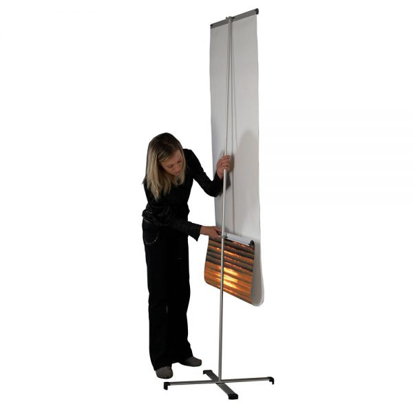 Cross Single banner adjustable height banner 31.5-2