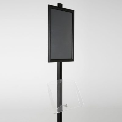free-standing-stand-in-black-color-with-1-x-11X17-frame-in-portrait-and-landscape-and-1-2-x-8.5x11-clear-shelf-in-acrylic-single-sided-10