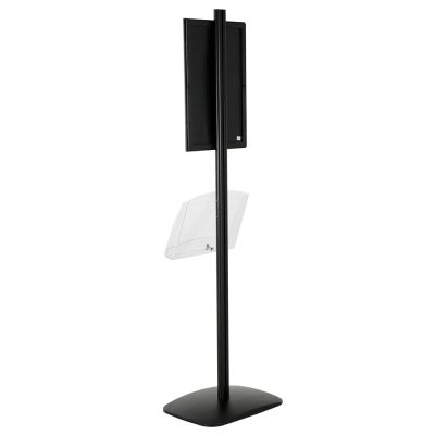 free-standing-stand-in-black-color-with-1-x-11X17-frame-in-portrait-and-landscape-and-1-2-x-8.5x11-clear-shelf-in-acrylic-single-sided-7