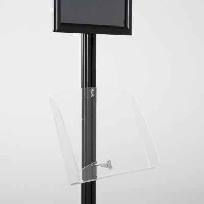 free-standing-stand-in-black-color-with-1-x-11X17-frame-in-portrait-and-landscape-and-1-2-x-8.5x11-clear-shelf-in-acrylic-single-sided-9