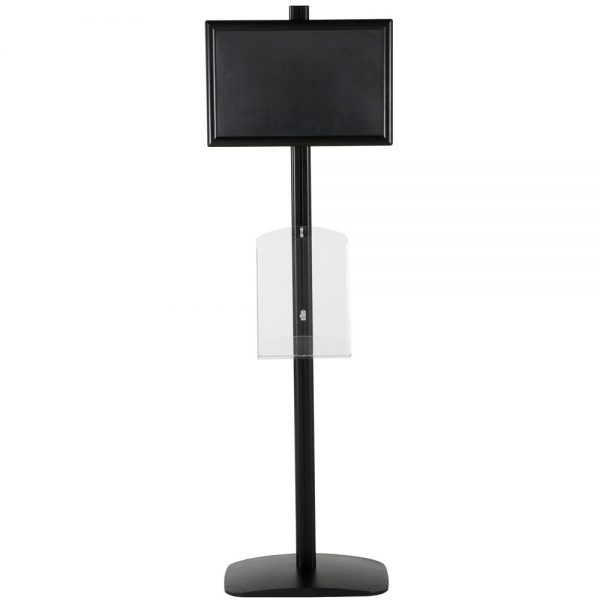 free-standing-stand-in-black-color-with-1-x-11X17-frame-in-portrait-and-landscape-and-1-x-8.5x11-clear-shelf-in-acrylic-single-sided-10