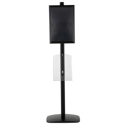 free-standing-stand-in-black-color-with-1-x-11X17-frame-in-portrait-and-landscape-and-1-x-8.5x11-clear-shelf-in-acrylic-single-sided-16