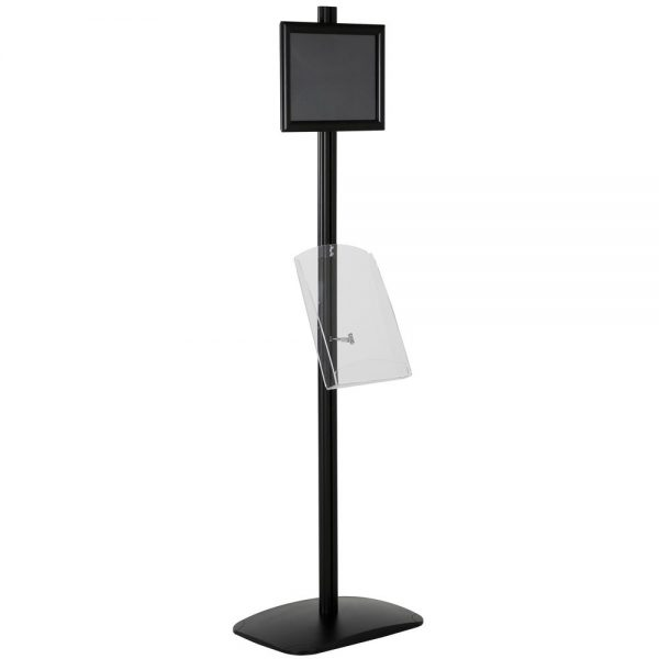 free-standing-stand-in-black-color-with-1-x-11X17-frame-in-portrait-and-landscape-and-1-x-8.5x11-clear-shelf-in-acrylic-single-sided-8