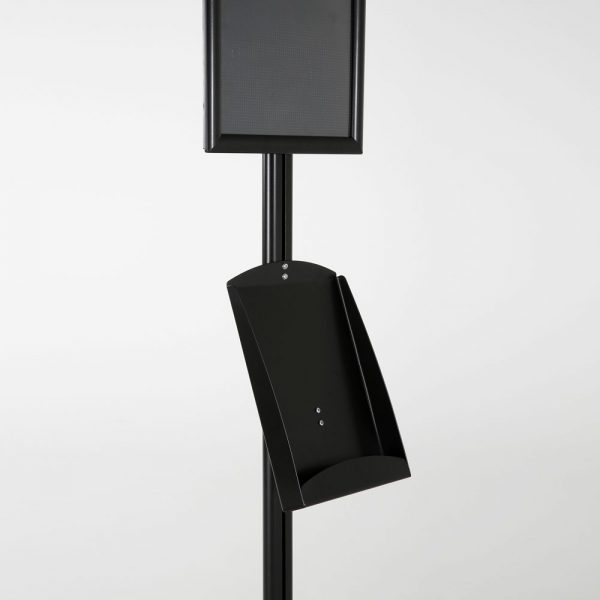 free-standing-stand-in-black-color-with-1-x-11X17-frame-in-portrait-and-landscape-and-1-x-8.5x11-steel-shelf-single-sided-14